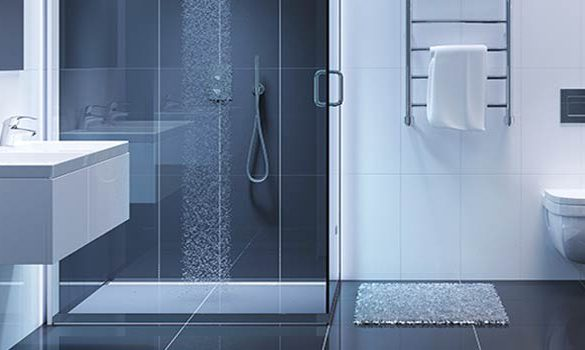 Prefabrik WC-Duş Kabini