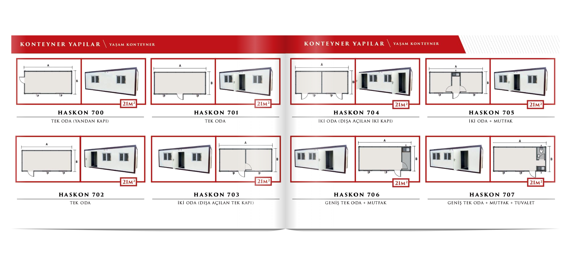 Haskon Konteyner ve Prefabrik Katalog